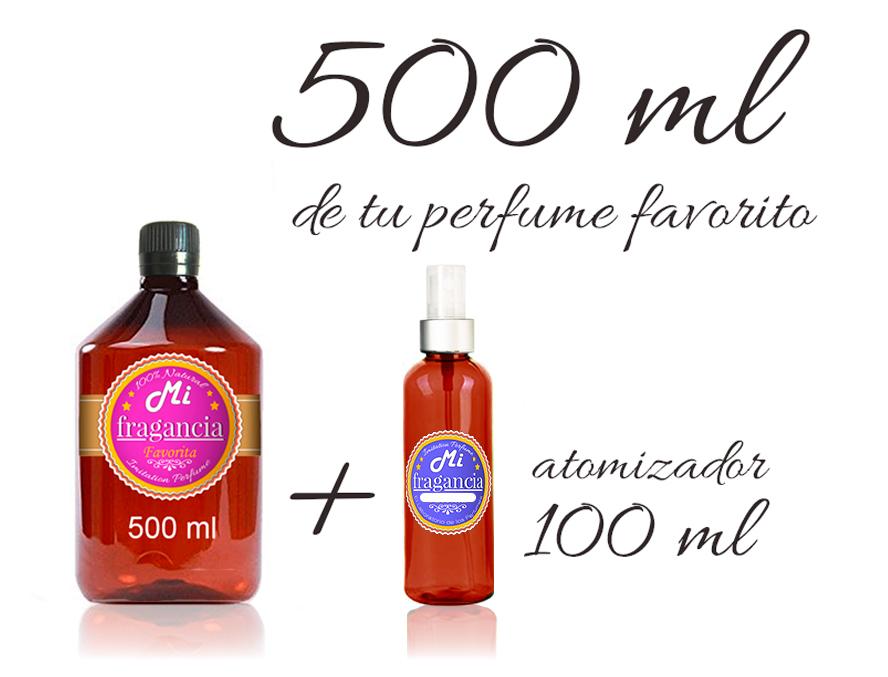 500 ml de perfume